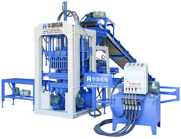 QT3-25 Semi-Automatic Block Making Machine