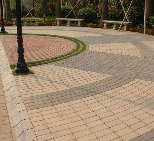 Colored Pavements Brick