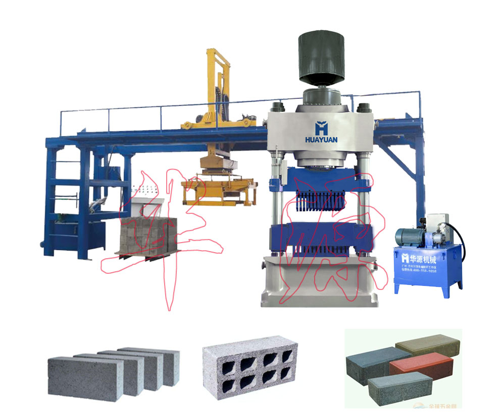 800T hydraulic press block machine